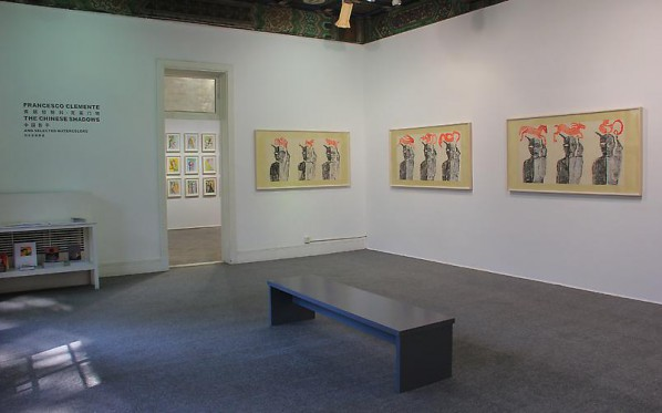 Francesco Clemente, Installation View of The Chinese Shadows 03, 2014