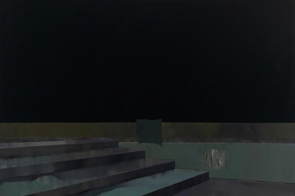 Han Bing, Void #4, oil on linen © 2013-2014, courtesy Fou Gallery