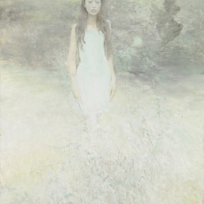 He Duoling Scared Birds Oil on canvas 200 x 150 cm 2013 290x290 - Skin's Literary Form: Dual Exhibition by He Duoling and Mao Yan Opening at the Art Museum of Nanjing University of the Arts