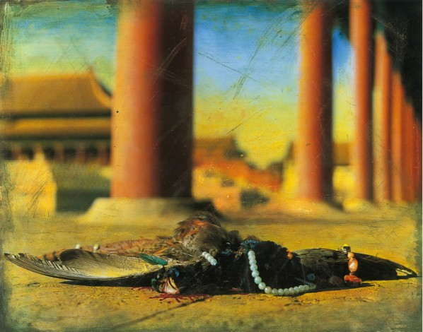 Hong Lei, Autumn of the Forbidden City-Eastern Corridor of Hall of Supreme Harmony, 1997
