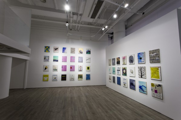 """Installation View of""""The Time Thief – Prophecies & Fragments Ye Yongqing Works 2010-2014""""02"""