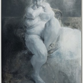 Mao Yan Plump Lady Oil on canvas 330x200cm 2013 290x290 - Skin's Literary Form: Dual Exhibition by He Duoling and Mao Yan Opening at the Art Museum of Nanjing University of the Arts