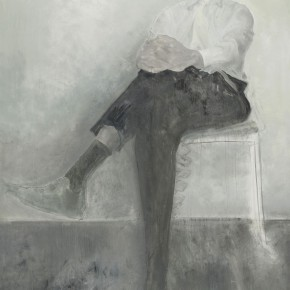 Mao Yan Thomas on the Chair Oil on canvas 330×200cm2009 290x290 - Skin's Literary Form: Dual Exhibition by He Duoling and Mao Yan Opening at the Art Museum of Nanjing University of the Arts