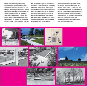 "The Swiss Touch in Landscape Architecture exhibition content Page 10 290x290 - ""The Swiss Touch in Landscape Architecture"" Curated by Michael Jakob to be Presented at Yuan Space"