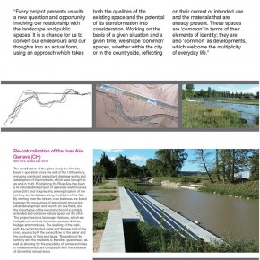 "The Swiss Touch in Landscape Architecture exhibition content Page 21 290x290 - ""The Swiss Touch in Landscape Architecture"" Curated by Michael Jakob to be Presented at Yuan Space"
