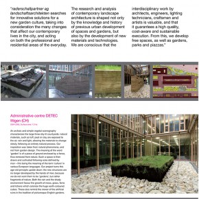 "The Swiss Touch in Landscape Architecture exhibition content Page 23 290x290 - ""The Swiss Touch in Landscape Architecture"" Curated by Michael Jakob to be Presented at Yuan Space"