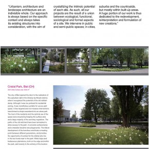 "The Swiss Touch in Landscape Architecture exhibition content Page 25 290x290 - ""The Swiss Touch in Landscape Architecture"" Curated by Michael Jakob to be Presented at Yuan Space"