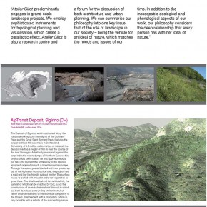 "The Swiss Touch in Landscape Architecture exhibition content Page 30 290x290 - ""The Swiss Touch in Landscape Architecture"" Curated by Michael Jakob to be Presented at Yuan Space"