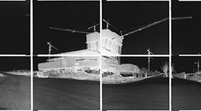 "Zhi Jun ""Crossroad Series Ridge of the Last Year"" 40 x 254 cm 2012 290x160 - Manual Machines: Confrontation or Sharpness Held at Art Seasons"