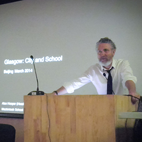 """Glasgow - City and School"" Alan Hooper Lectured in CAFA"