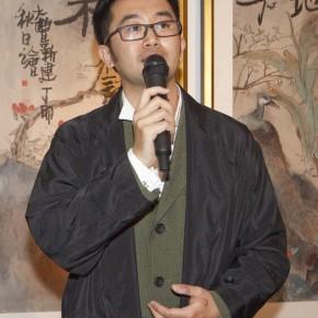 "01 Gao Peng Executive Director of Today Art Museum addressed 1 290x290 - ""Modern Recluse: Hermit Spirits of Zhu Xinjian"" Opened at Today Art Museum to Recall the New Literati Painter Zhu Xinjian"