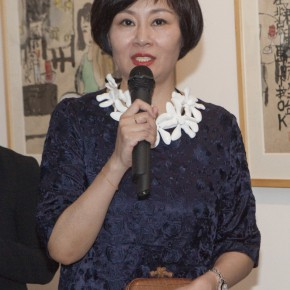"02 Co curator Gao Difei addressed all1 290x290 - ""Modern Recluse: Hermit Spirits of Zhu Xinjian"" Opened at Today Art Museum to Recall the New Literati Painter Zhu Xinjian"