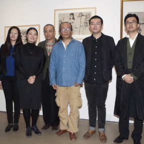 "03 Photo of honored guests 290x290 - ""Modern Recluse: Hermit Spirits of Zhu Xinjian"" Opened at Today Art Museum to Recall the New Literati Painter Zhu Xinjian"