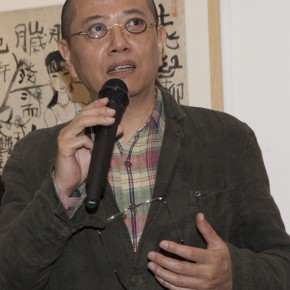 "05 Chen Danqing a famous painter critic and writer addressed the gathered audience1 290x290 - ""Modern Recluse: Hermit Spirits of Zhu Xinjian"" Opened at Today Art Museum to Recall the New Literati Painter Zhu Xinjian"