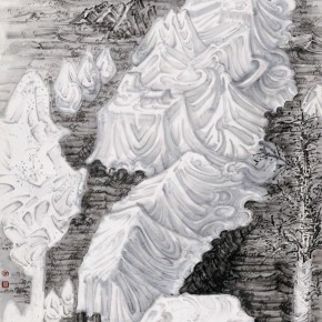 05 Hou Zhuowu Package Series VII 2012 Ink on rice paper 320.5 x 143 cm 290x290 -  INK MUTATIONS: Exhibition of Works by Hou Zhuowu Opening April 14 at Today Art Museum