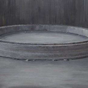 "05 Li Yiwen ""City No.2"" acrylic on canvas 200 x 100 cm 2013 290x290 - The Solo Exhibition by Artist Li Yiwen Presented at Gallery Yang"