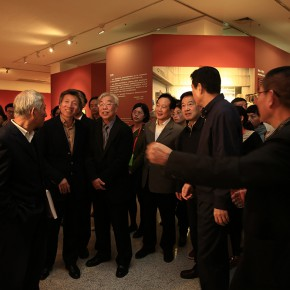 "06 Installation view of the opening ceremony 290x290 - ""Strong Wind and Big Waves – The Retrospective of Tang Xiaohe and Cheng Li"" Debuted at Hubei Museum of Art"