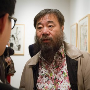 "07 Li Jin was interviewed by a journalist from CAFA ART INFO 290x290 - ""Modern Recluse: Hermit Spirits of Zhu Xinjian"" Opened at Today Art Museum to Recall the New Literati Painter Zhu Xinjian"