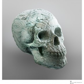 """07 Li Yuduan """"Skeleton"""" 290x290 - Contemporary China's Alchemy First Exhibition Opening at the AMNUA"""