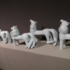 """08 Zhu Legeng """"Wind Series – Tailwind"""" 290x290 - """"Space • Scene – Zhu Legeng's Contemporary Ceramic Art Exhibition"""" Opened at the National Centre for the Performing Arts"""