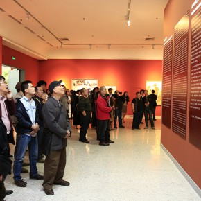 "09 Installation view of the opening ceremony 290x290 - ""Strong Wind and Big Waves – The Retrospective of Tang Xiaohe and Cheng Li"" Debuted at Hubei Museum of Art"