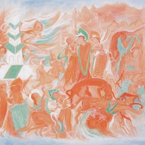 "104 Wu Yi ""Dedicating the Body to Feed the Tiger"" oil on canvas 80 x 100 cm 2010 290x290 - Wu Yi"