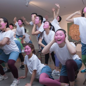 11 Performing of modern dance