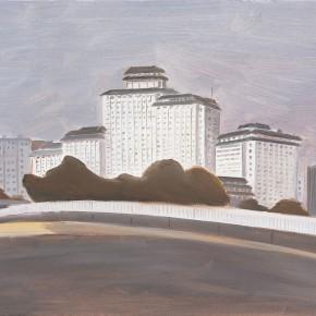 """114 Wu Yi, """"Gong Zhu Fen"""", oil on canvas, 30 x 40 cm, 2008"""