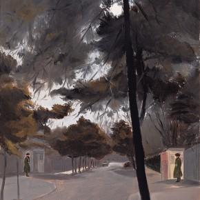 "115 Wu Yi ""Embassy District"" oil on canvas 40 x 30 cm 2008 290x290 - Wu Yi"