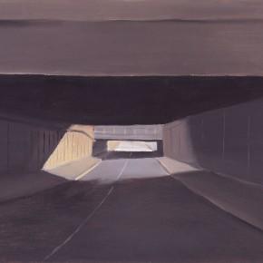 """117 Wu Yi, """"Si Yuan Qiao"""", oil on canvas, 30 x 40 cm, 2008"""