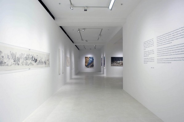 12 Installation View of Spiritual as Mountains