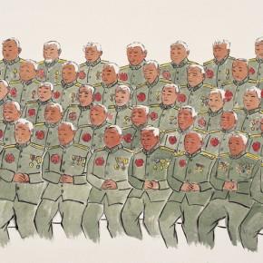 "121 Wu Yi ""Festival"" ink on paper 70 x 110 cm 2008 290x290 - Wu Yi"