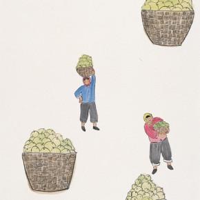 "124 Wu Yi ""Harvest"" ink on paper 138 x 74 cm 2007 290x290 - Wu Yi"