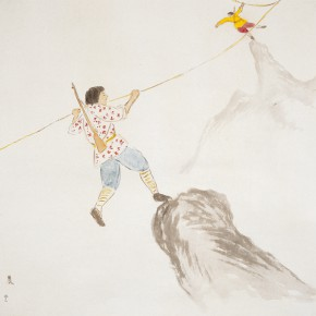 """126 Wu Yi """"Morning"""" ink on paper 68 x 68 cm 2007 290x290 - Wu Yi"""