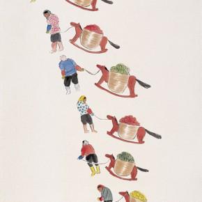 """127 Wu Yi """"Warm Winter"""" ink on paper 198 x 198 cm 2007 290x290 - Wu Yi"""