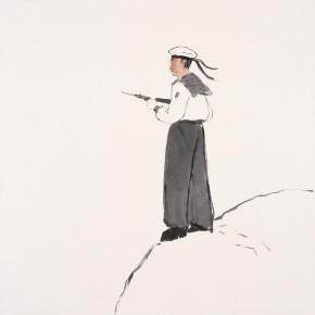 "128 Wu Yi ""Sea Breeze"" ink on paper 68 x 68 cm 2007 290x290 - Wu Yi"