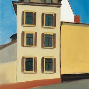 "130 Wu Yi, ""Karl Street"", oil on canvas, 60 x 50 cm, 2007"