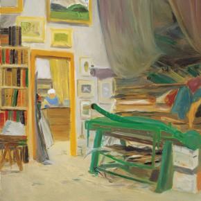 "136 Wu Yi ""Mr. Lang's Frame Shop"" oil on canvas 60 x 50 cm 2007 290x290 - Wu Yi"