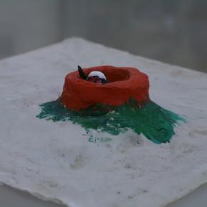 """138 Wu Yi, """"Tunnel Warfare"""", sculpture, 2007"""