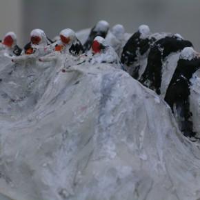 """141 Wu Yi """"Winter Blocking Action"""" Sculpture 2007 290x290 - Wu Yi"""