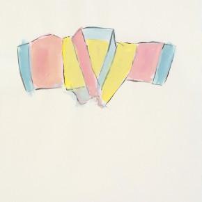 "146 Wu Yi, ""Silk Clothing"", ink on paper, 30 x 21 cm, 2007"