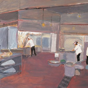 "148 Wu Yi ""Kitchen"" oil on canvas 80 x 100 cm 2006 290x290 - Wu Yi"