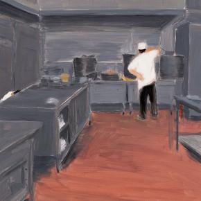 "149 Wu Yi ""Kitchen"" oil on canvas 70 x 60 cm 2006 290x290 - Wu Yi"