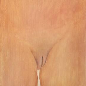 "15 Wu Yi, ""The Origin No.1"", oil on canvas, 31.5 x 22.5 cm, 2013"
