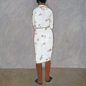 """157 Wu Yi """"The Model with a Sleepwear"""" oil on canvas 60 x 50 cm 2005 290x290 - Wu Yi"""