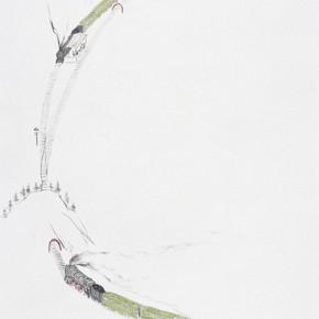"162 Wu Yi ""The Station"" ink on paper 140 x 70 cm 2006 290x290 - Wu Yi"
