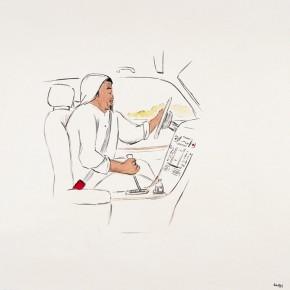 """166 Wu Yi """"Morning"""" ink on paper 68 x 68 cm 2006 290x290 - Wu Yi"""