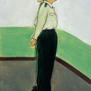 "169 Wu Yi ""Standing Female Soldiers"" oil on canvas 30 x 20 cm 2005 290x290 - Wu Yi"