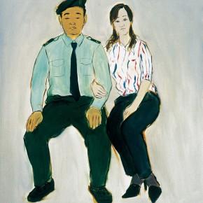 "170 Wu Yi ""Newly Married Couple"" oil on canvas 60 x 50 cm 2005 290x290 - Wu Yi"