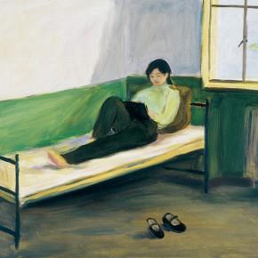"171 Wu Yi, ""Morning"", oil on canvas, 50 x 60 cm, 2005"